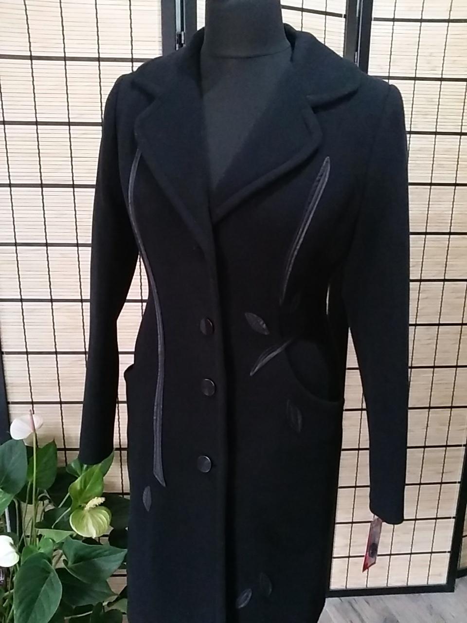 bae0302fa6ee Dámsky kabát MAJA čierny