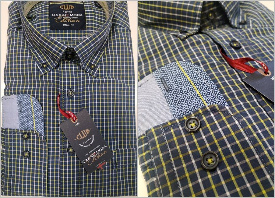 077afd8fab01 Pánska košeľa CASUAL FIT