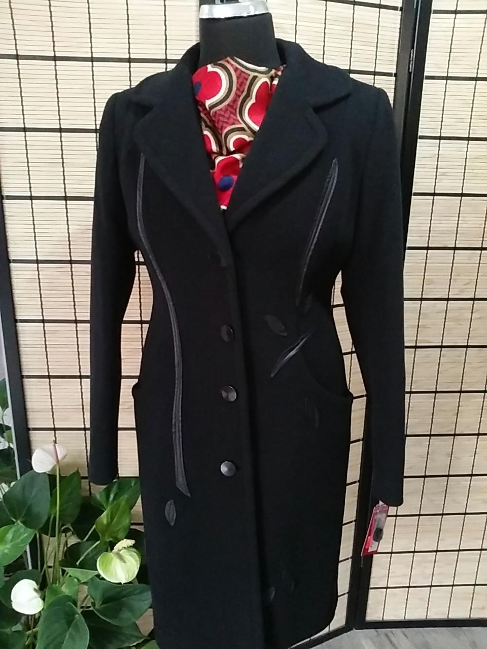 5e2dd4e928ec Dámsky kabát MAJA čierny